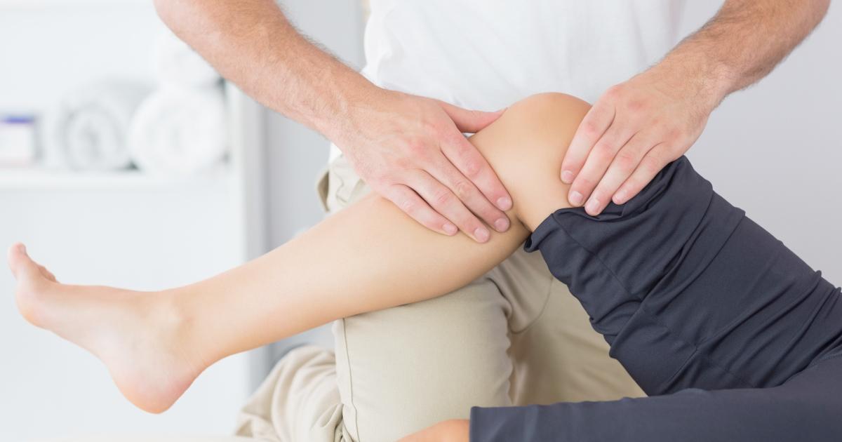 Как сделать массаж колена?
