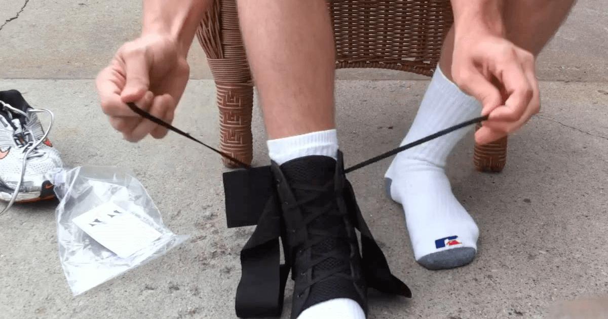 Бондаж для фиксации голеностопного сустава