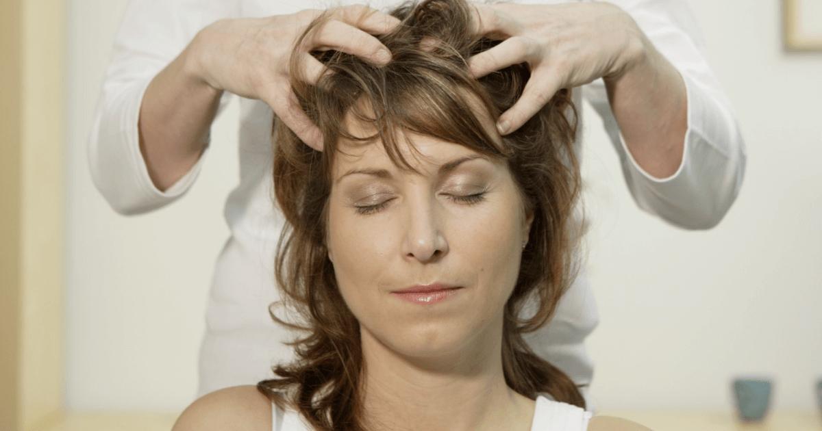 Как делать массаж головы?